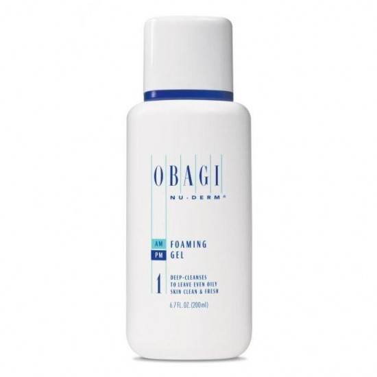 Obagi Nu-Derm Foaming Gel Normal to Oily - Засіб для очищення норм/жирної шкіри, 200 мл